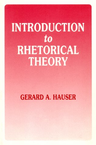9780881336078: Introduction to Rhetorical Theory