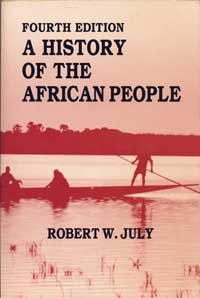 9780881336313: A History of the African People