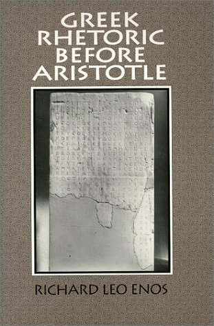 9780881337136: Greek Rhetoric Before Aristotle