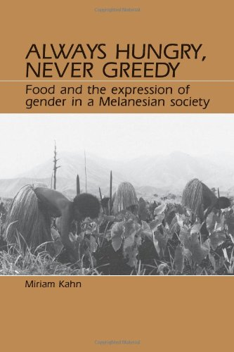 9780881337761: Always Hungry, Never Greedy: Food and the Expression of Gender in a Melanesian Society