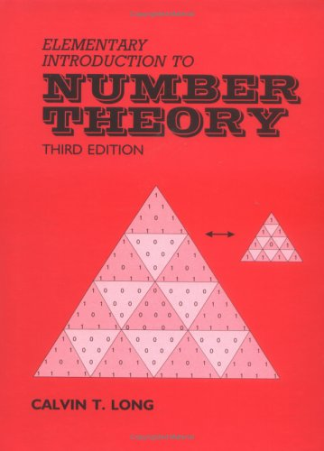 9780881338362: Elementary Introduction to Number Theory