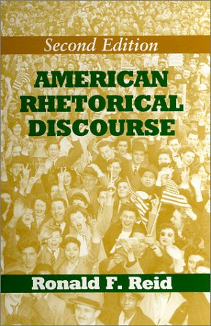 9780881338393: American Rhetorical Discourse