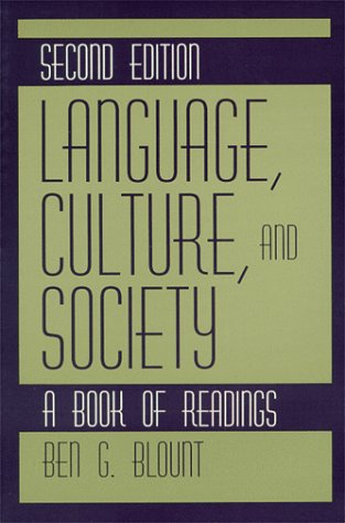 9780881338508: Language, Culture, and Society: A Book of Readings