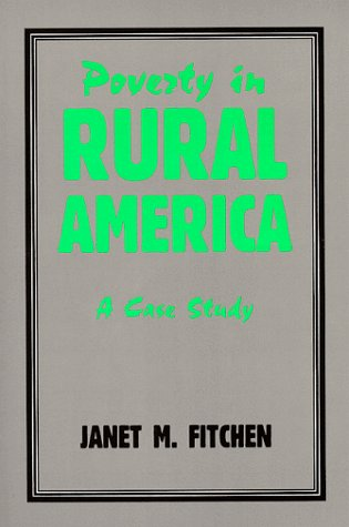 9780881338690: Poverty in Rural America: A Case Study