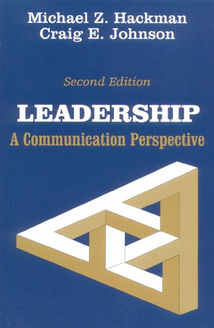9780881338867: Leadership: A Communication Perspective
