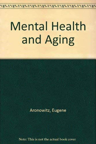 9780881350517: Mental Health and Aging
