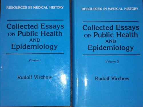 9780881350777: Collected Essays on Public Health and Epidemiology (2 Vol. Set)