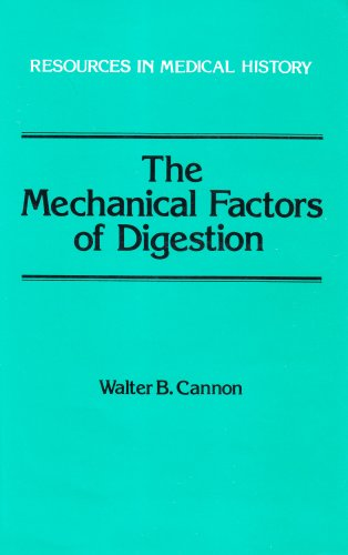 9780881350821: The Mechanical Factors of Digestion (Resources in Medical History)