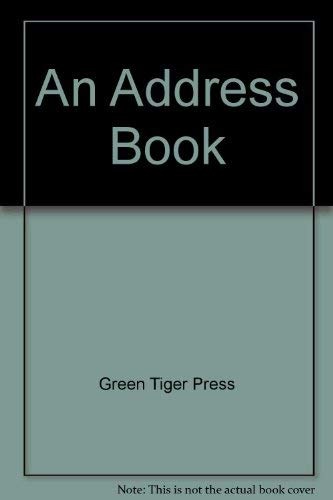 9780881380958: An Address Book