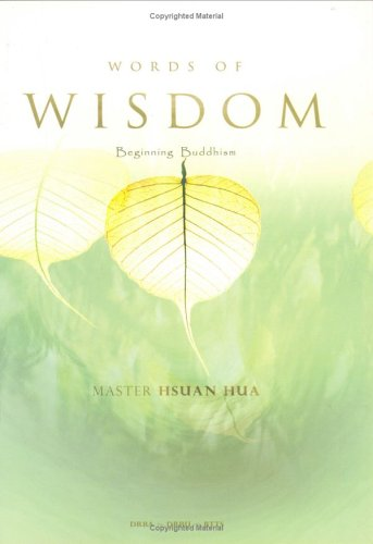 9780881393026: Beginning Buddhism (Words of Wisdom)