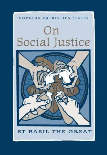 9780881410532: On Social Justice: St. Basil the Great (Popular Patristics)