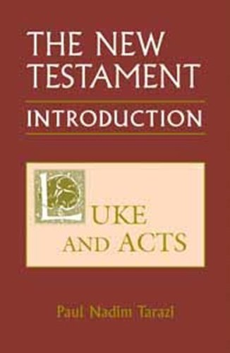 9780881411898: New Testament: An Introduction: Luke and Acts (New Testament Introduction)