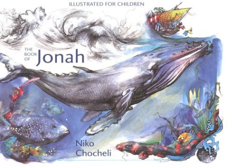 9780881412079: The Book of Jonah: Illustrated for Children by Niko Chocheli
