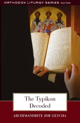 9780881414127: The Typikon Decoded: An Explanation of Byzantine Liturgical Practice