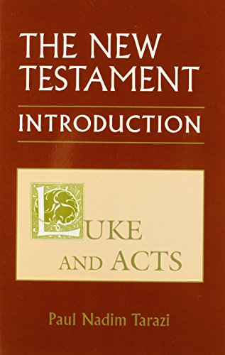 9780881418774: New Testament: An Introduction: Luke and Acts V.2