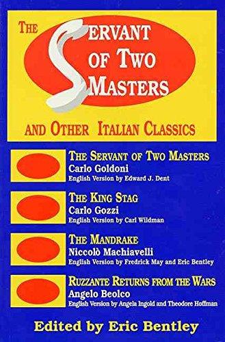The Servant of Two Masters: Carlo Goldoni, Constance Congdon