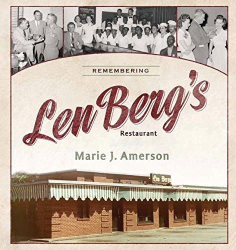 9780881463873: Remembering Len Berg's Restaurant