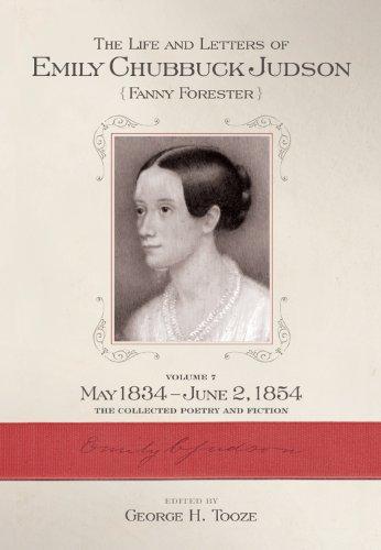 Emily Chubbuck Judson: Vol 7: Tooze, George H., editor