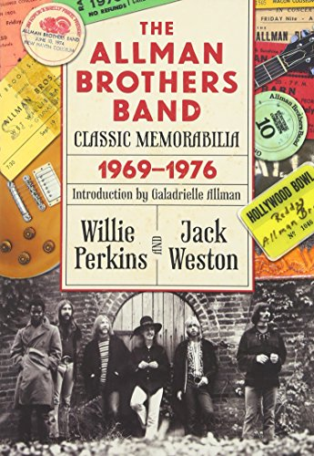 9780881465471: The Allman Brothers Band Classic Memorabilia, 1969-76 (Music and the American South)