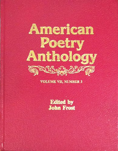 9780881470536: American Poetry Anthology