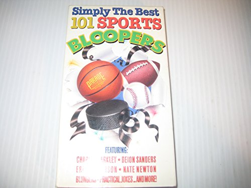 9780881493764: Simply the Best 101 Sports Bloopers (VHS 536)