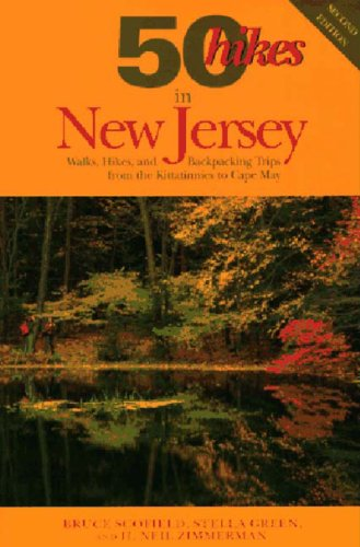 9780881503579: 50 Hikes in New Jersey: Walks, Hikes, and Backpacking Trips from the Kittatinnies to Cape May (50 Hikes in Louisiana: Walks, Hikes, & Backpacks in the Bayou State)