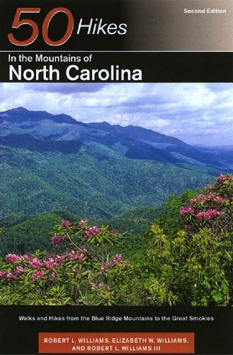9780881504491: 50 Hikes in the Mountains of North Carolina: Walks and Hikes from the Blue Ridge Mountains to the Great Smokies, Second Edition