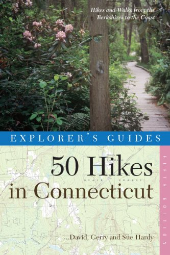 9780881504965: 50 Hikes in Connecticut: Hikes and Walks from the Berkshires to the Coast, Fifth Edition