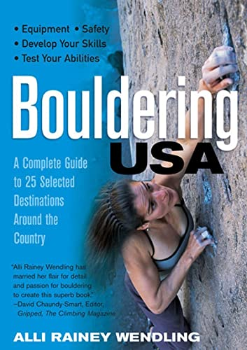 9780881506518: Bouldering USA: A Complete Guide to 25 Selected Destinations Around the Country