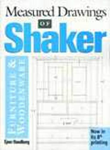 Shop Drawings of Shaker Furniture and Woodenware: Handberg, Ejner
