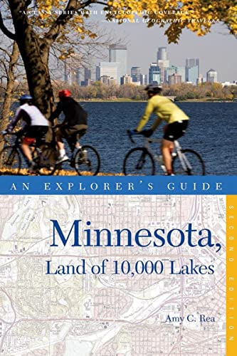 9780881509540: Explorer's Guide Minnesota, Land of 10,000 Lakes (Second Edition) (Explorer's Complete)