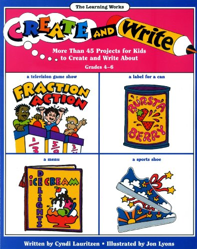 9780881600520: Create and Write (Learning Works Creative Writing Series)