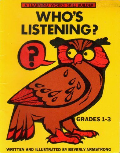 9780881600797: Who's Listening (A Learning Works Skill Builder, Grades 1-3)