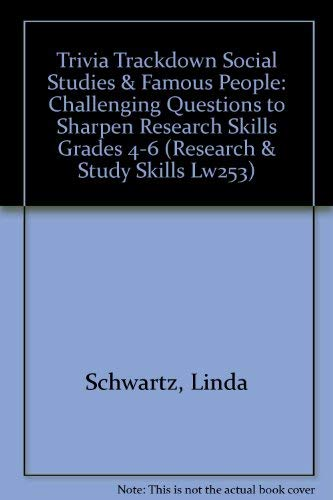 9780881601206: Trivia Trackdown : Challenging Questions to Sharpen Research Skills (Grades 4-6 : Social Studies & Famous People)