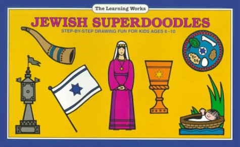 9780881603224: Jewish Superdoodles: Step-By-Step Drawing Fun for Kids Ages 6-10