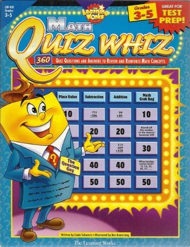 9780881603743: Quiz Whiz: Math, Gr. 3-5