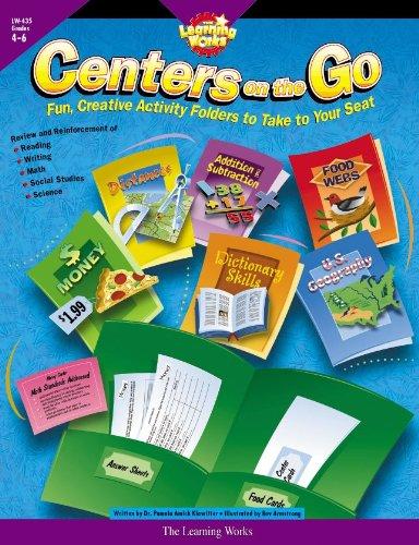 9780881603781: Centers on the Go, Gr. 4-6