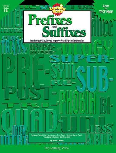9780881603804: The Learning Works: Prefixes and Suffixes, Grades 4-8: Teaching Vocabulary to Improve Reading Comprehension
