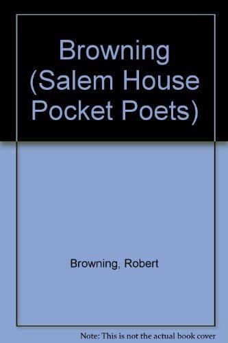 9780881623000: Browning (Salem House Pocket Poets)