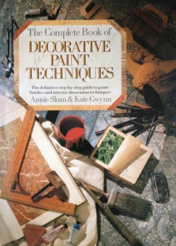 9780881623369: The Complete Book of Decorative Paint Techniques