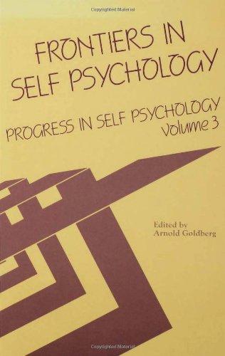 9780881630664: Progress in Self Psychology, V. 3: Frontiers in Self Psychology
