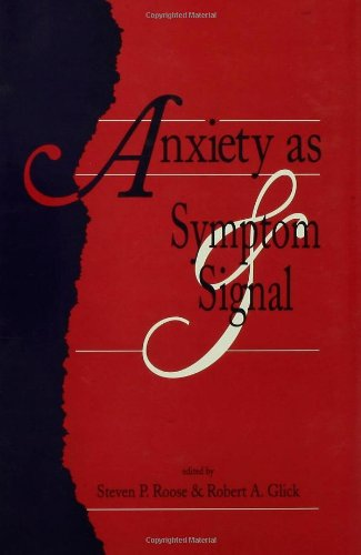 9780881631180: Anxiety as Symptom and Signal
