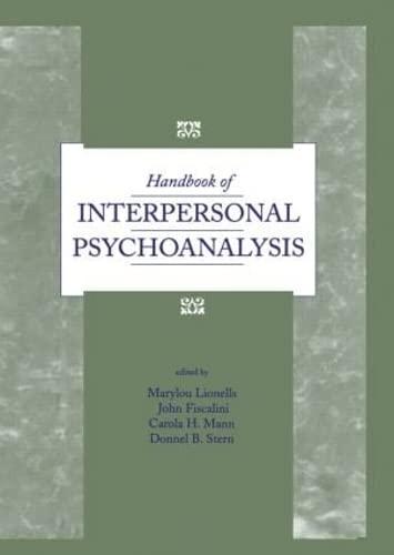 9780881631203: Handbook of Interpersonal Psychoanalysis