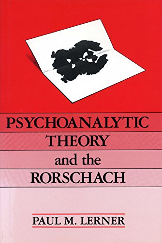 9780881631227: Psychoanalytic Theory and the Rorschach