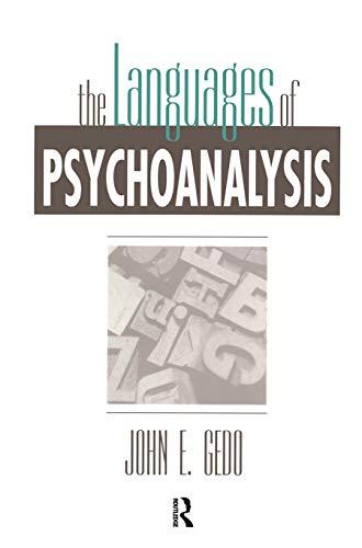 9780881631869: The Languages of Psychoanalysis