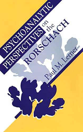 9780881632347: Psychoanalytic Perspectives on the Rorschach
