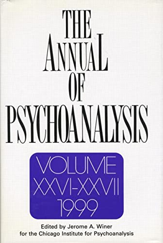 9780881633009: The Annual of Psychoanalysis, V. 26/27