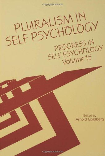 9780881633122: Progress in Self Psychology, V. 15: Pluralism in Self Psychology