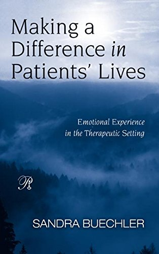 9780881634433: Making a Difference in Patients' Lives: Emotional Experience in the Therapeutic Setting (Psychoanalysis in a New Key Book Series)