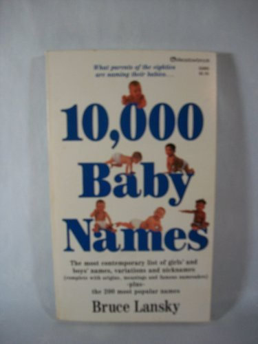 9780881660678: 10,000 Baby Names